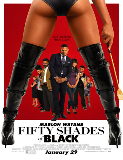 Poster de Fifty Shades of Black