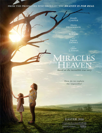 Poster de Miracles from Heaven (Milagros del cielo)