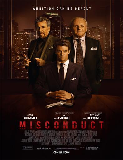 Poster de Misconduct
