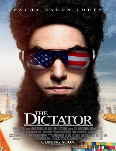 Poster de The Dictator (El dictador)