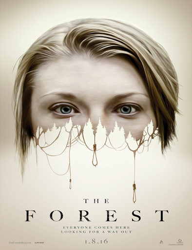 Poster de The Forest (El Bosque de los Suicidios)