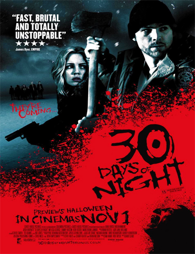 Poster de 30 Days of Night (30 días de noche)