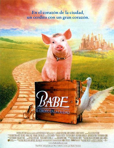 Poster de Babe el puerquito va a la ciudad