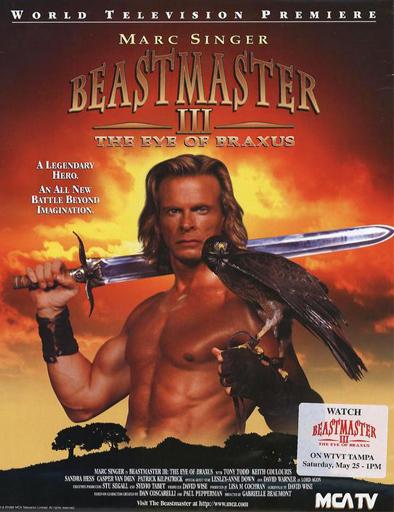 Poster de El señor de las bestias 3. El ojo de Braxus