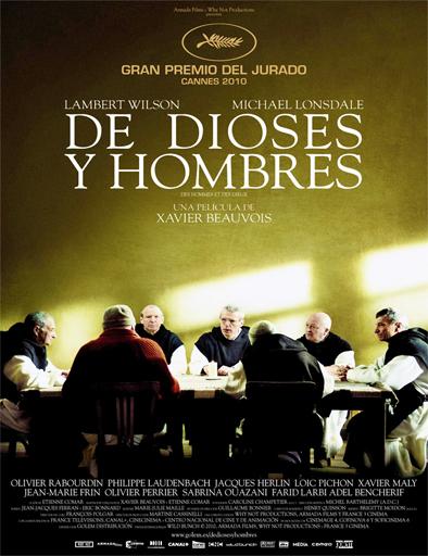 Poster de Des hommes et des dieux (De dioses y hombres)