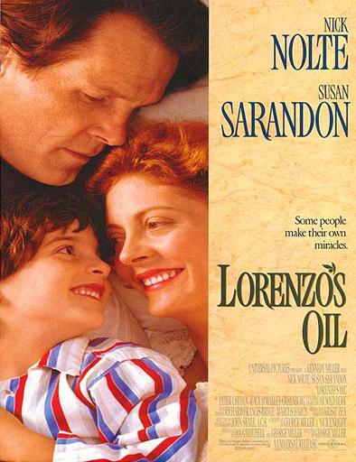 Poster de Lorenzo's Oil (Un milagro para Lorenzo)