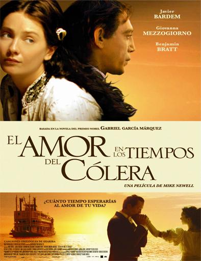 Poster de El amor en los tiempos del cólera