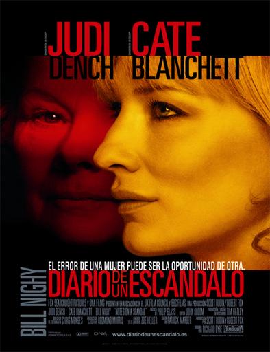 Poster de Notes on a Scandal (Escándalo)