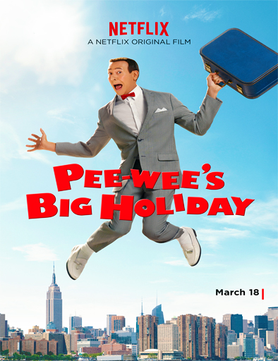 Poster de Pee-wee's Big Holiday