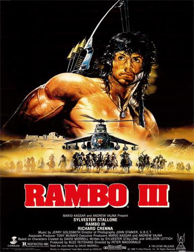 Poster de Rambo 3