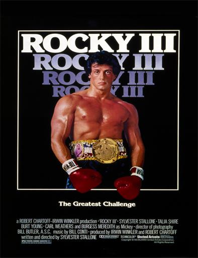 Poster de Rocky 3