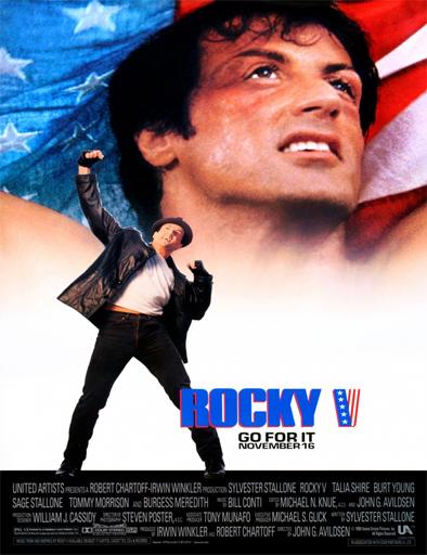 Poster de Rocky 5