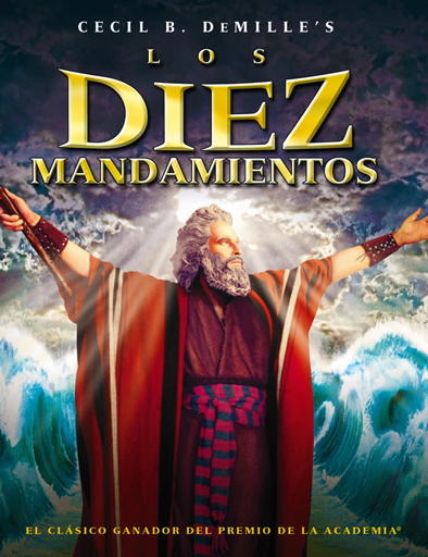 Poster de The Ten Commandments (Los diez mandamientos)
