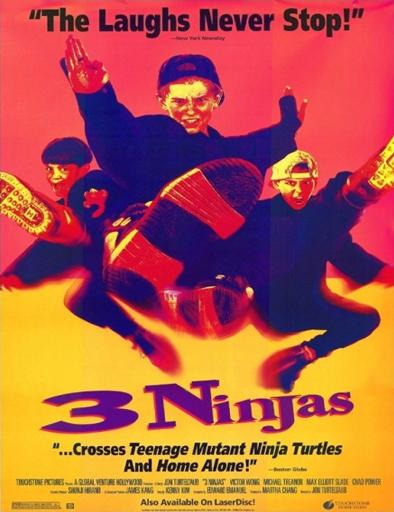 Poster de Tres pequeños ninjas