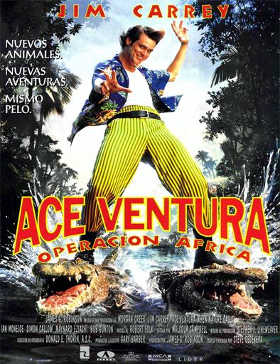 Poster de Ace Ventura 2: Un loco en África