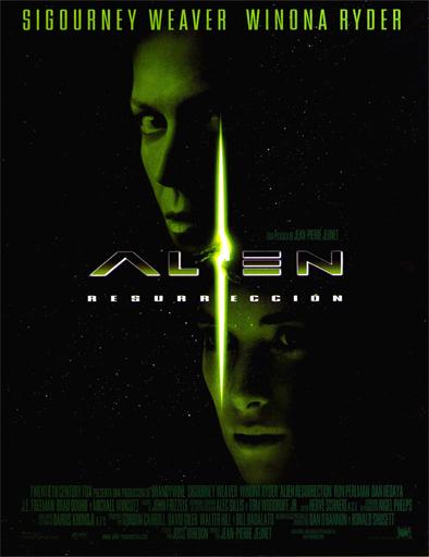 Poster de Alien 4: la resurrección