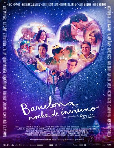 Poster de Barcelona, noche de invierno