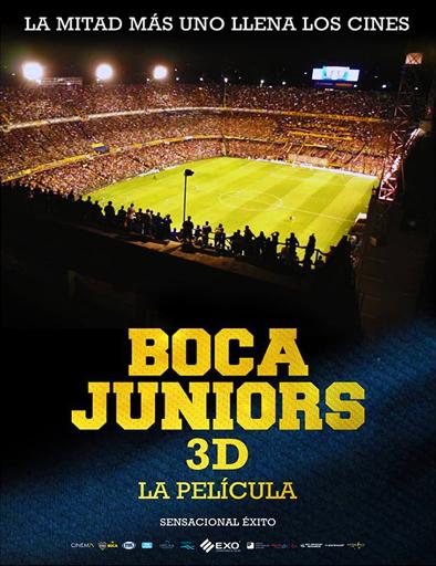 Poster de Boca Juniors 3D, la película