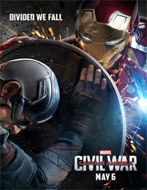 Poster new de Captain America: Civil War (Capitán América: Guerra civil)