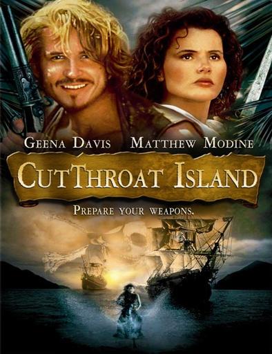 Poster de Cutthroat Island (La pirata)