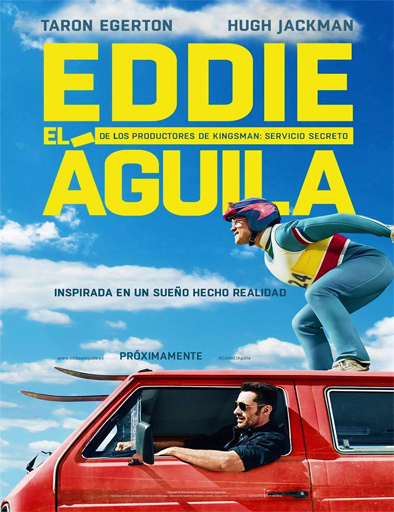 Poster de Eddie the Eagle (Volando Alto)
