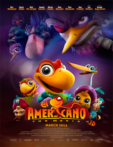Poster de El Americano: The Movie
