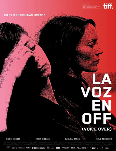 Poster de La voz en off