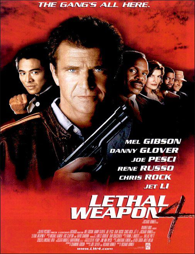 Poster de Lethal Weapon 4 (Arma mortal 4)