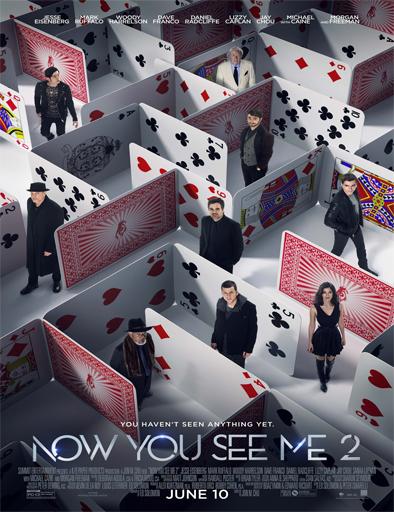 Poster de Now you see me 2 (Ahora me ves 2)