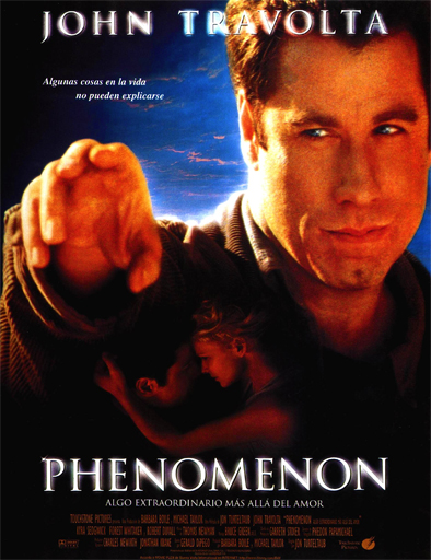 Poster de Phenomenon (Algo extraordinario más allá del amor)