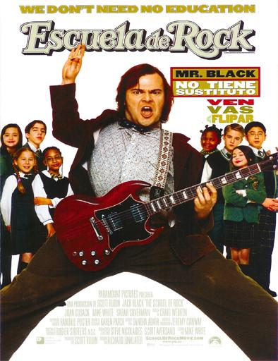 Poster de School of Rock (Escuela de Rock)