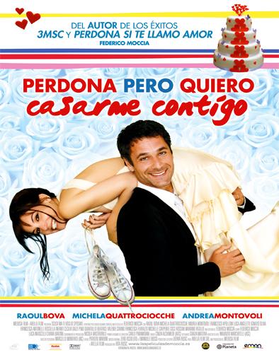 Poster de Perdona pero quiero casarme contigo