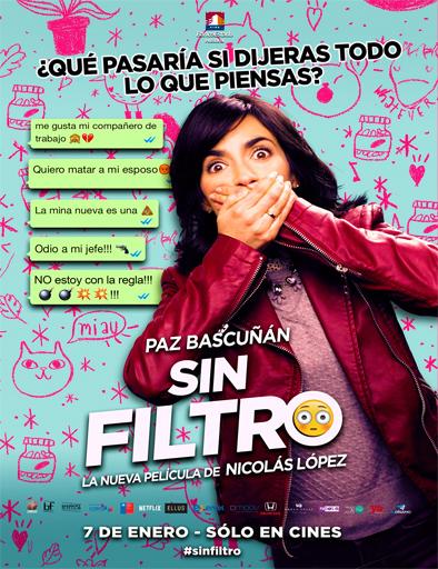 Poster de Sin filtro