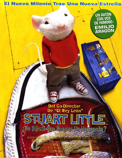 Poster de Stuart Little, un ratón en la familia