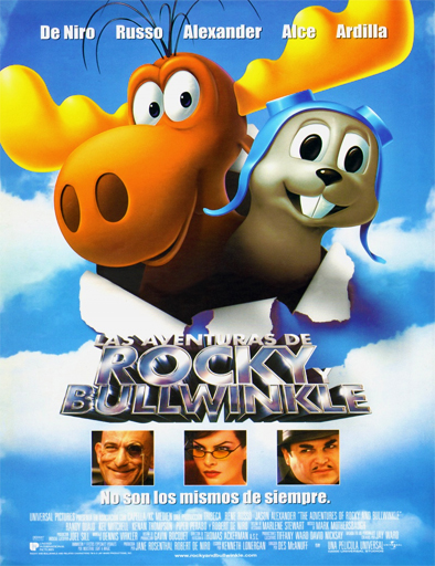 Poster de Las aventuras de Rocky y Bullwinkle