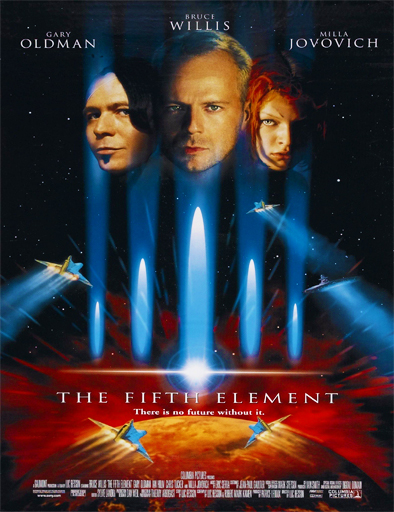 Poster de The Fifth Element (El quinto elemento)