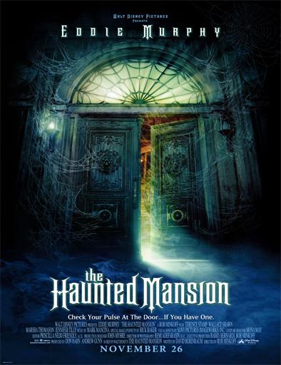 Poster de The Haunted Mansion (La mansión embrujada)