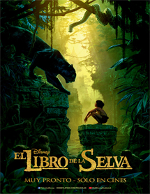 Poster new de The Jungle Book (El libro de la selva)