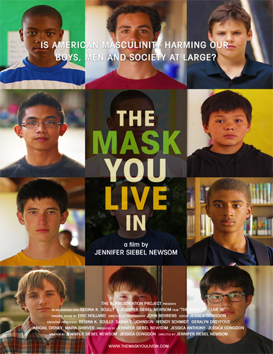 Poster de The Mask You Live In (La máscara en la que vives)