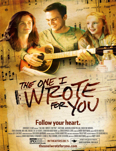 Poster de The One I Wrote for You