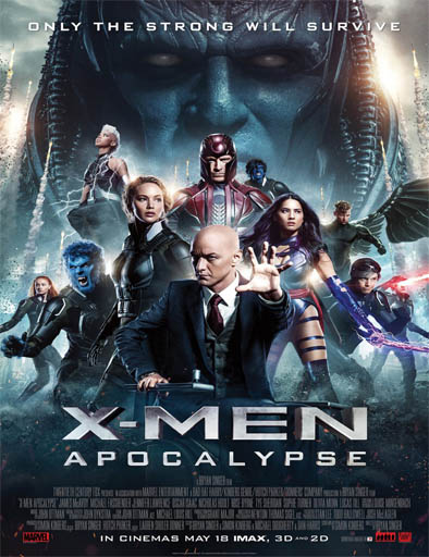 X-Men Apocalipsis Película Completa Online HD 720p [MEGA] [LATINO] 2016