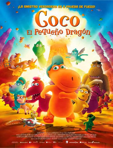 Poster de Der kleine Drache Kokosnuss (Coco, el pequeño dragón)