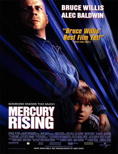 Poster de Mercury Rising (Al rojo vivo)