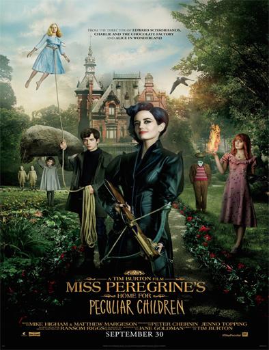 Miss Peregrine y los niños peculiares 2016 Online latino español Gratis