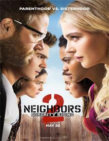 Buenos vecinos 2 Película Completa Online [MEGA] [LATINO] 2016