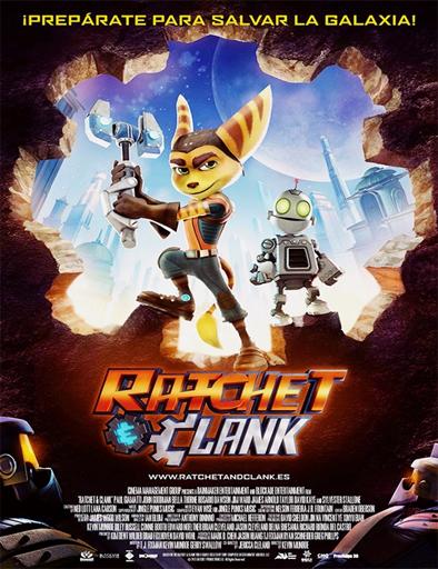Ratchet y Clank La Película (2016)  [DVDRip] [Latino] [1 Link] [MEGA]