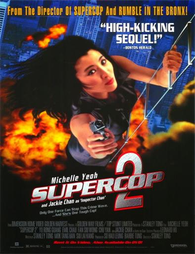 Poster de Police Story 3: Supercop 2