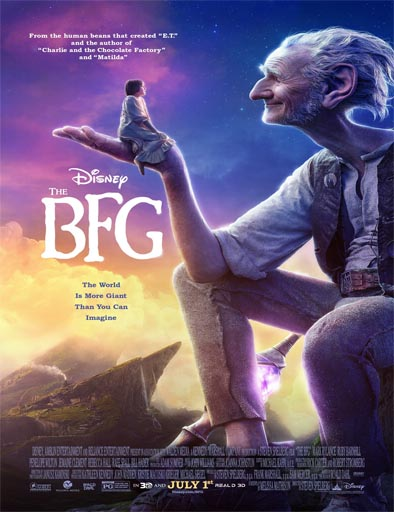 Poster de The BFG (El Buen Amigo Gigante)