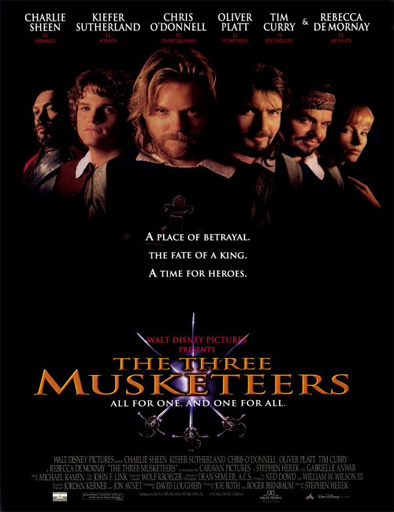 Poster de The Three Musketeers (Los tres mosqueteros)