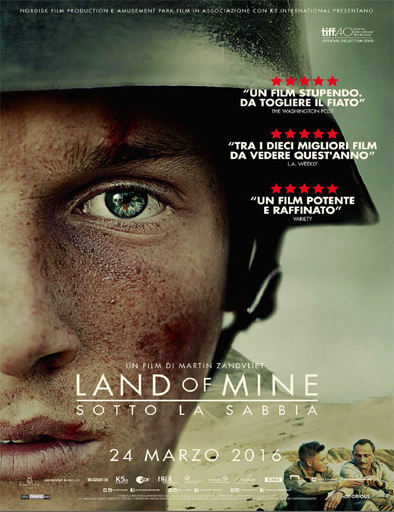 Poster de Under sandet (Land of mine)